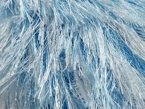 Fiber Content 100% Polyester, White, Brand Ice Yarns, Blue, Yarn Thickness 5 Bulky Chunky, Craft, Rug, fnt2-46091