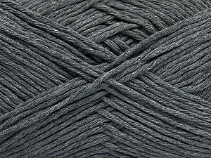 Please note that the yarn weight and the ball length may vary from one color to another for this yarn. Fiber Content 100% Cotton, Brand ICE, Grey, Yarn Thickness 3 Light  DK, Light, Worsted, fnt2-46489