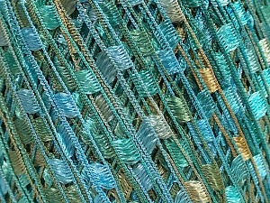 Trellis  Fiber Content 100% Polyester, Turquoise, Mint Green, Brand ICE, Cafe Latte, Yarn Thickness 5 Bulky  Chunky, Craft, Rug, fnt2-46511