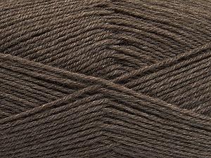 Fiber Content 60% Merino Wool, 40% Acrylic, Brand ICE, Dark Beige, Yarn Thickness 2 Fine  Sport, Baby, fnt2-47163