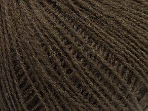 Fiber Content 70% Acrylic, 30% Wool, Brand ICE, Dark Brown, Yarn Thickness 2 Fine  Sport, Baby, fnt2-47262