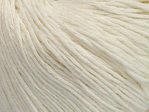 Fiber Content 100% Cotton, Brand Ice Yarns, Cream, Yarn Thickness 1 SuperFine  Sock, Fingering, Baby, fnt2-47513