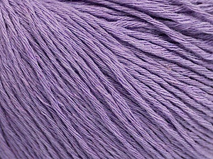 Fiber Content 100% Cotton, Lilac, Brand Ice Yarns, Yarn Thickness 1 SuperFine  Sock, Fingering, Baby, fnt2-47519