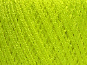 Fiber Content 60% Polyamide, 40% Viscose, Neon Green, Brand ICE, Yarn Thickness 2 Fine  Sport, Baby, fnt2-48389