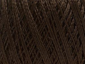 Fiber Content 60% Polyamide, 40% Viscose, Brand Ice Yarns, Dark Brown, Yarn Thickness 2 Fine Sport, Baby, fnt2-48396