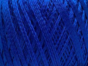 Fiber Content 60% Polyamide, 40% Viscose, Brand ICE, Bright Blue, Yarn Thickness 2 Fine  Sport, Baby, fnt2-48402