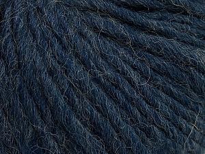 Fiber Content 50% Merino Wool, 25% Alpaca, 25% Acrylic, Navy, Brand ICE, Yarn Thickness 5 Bulky  Chunky, Craft, Rug, fnt2-48700