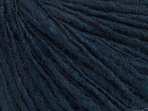 Fiber Content 60% Acrylic, 40% Wool, Navy, Brand ICE, Yarn Thickness 3 Light  DK, Light, Worsted, fnt2-48745