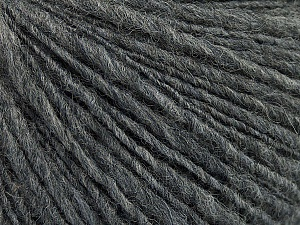 Fiber Content 60% Acrylic, 40% Wool, Brand ICE, Grey, Yarn Thickness 3 Light  DK, Light, Worsted, fnt2-48747