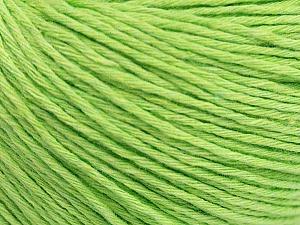 Fiber Content 100% Cotton, Light Green, Brand ICE, Yarn Thickness 1 SuperFine  Sock, Fingering, Baby, fnt2-48762