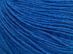 Fiber Content 100% Cotton, Brand ICE, Blue, Yarn Thickness 1 SuperFine  Sock, Fingering, Baby, fnt2-49123
