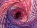 Angora Batik Yellow White Purple Pink Shades Lilac Shades