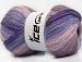 Angora Batik Purple Lilac Shades