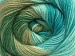 Angora Batik Turquoise Green Shades