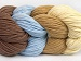 Art Color Cotton Light Brown Light Blue Cream Camel