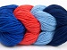 Art Color Cotton Salmon Navy Light Blue Blue