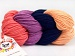 Art Color Cotton Salmon Navy Light Salmon Lavender