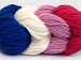 Art Color Cotton White Orchid Fuchsia Blue