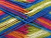 Natural Cotton Color Worsted White Pink Orange Green Blue