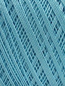Ne: 10/3 Nm: 17/3 Fiber Content 100% Mercerised Cotton, Light Turquoise, Brand Ice Yarns, Yarn Thickness 1 SuperFine  Sock, Fingering, Baby, fnt2-49534