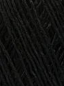 Fiber Content 100% Viscose, Brand ICE, Black, Yarn Thickness 3 Light  DK, Light, Worsted, fnt2-49536