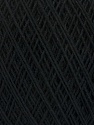 Fiber Content 67% Cotton, 33% Polyester, Brand ICE, Black, Yarn Thickness 1 SuperFine  Sock, Fingering, Baby, fnt2-49559