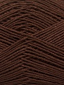 Ne: 8/4. Nm 14/4 Fiber Content 100% Mercerised Cotton, Brand ICE, Brown, Yarn Thickness 2 Fine  Sport, Baby, fnt2-49595
