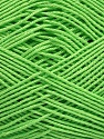 Ne: 8/4. Nm 14/4 Fiber Content 100% Mercerised Cotton, Brand ICE, Green, Yarn Thickness 2 Fine  Sport, Baby, fnt2-49596