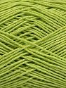 Ne: 8/4. Nm 14/4 Fiber Content 100% Mercerised Cotton, Light Green, Brand ICE, Yarn Thickness 2 Fine  Sport, Baby, fnt2-49597