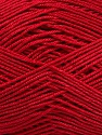 Ne: 8/4. Nm 14/4 Fiber Content 100% Mercerised Cotton, Red, Brand ICE, Yarn Thickness 2 Fine  Sport, Baby, fnt2-49599