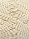 Ne: 8/4. Nm 14/4 Fiber Content 100% Mercerised Cotton, Brand ICE, Ecru, Yarn Thickness 2 Fine  Sport, Baby, fnt2-49603