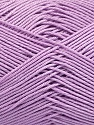 Ne: 8/4. Nm 14/4 Fiber Content 100% Mercerised Cotton, Lilac, Brand ICE, Yarn Thickness 2 Fine  Sport, Baby, fnt2-49606
