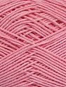 Ne: 8/4. Nm 14/4 Fiber Content 100% Mercerised Cotton, Light Pink, Brand ICE, Yarn Thickness 2 Fine  Sport, Baby, fnt2-49608