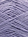 Ne: 8/4. Nm 14/4 Fiber Content 100% Mercerised Cotton, Light Lilac, Brand ICE, Yarn Thickness 2 Fine  Sport, Baby, fnt2-49849