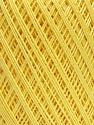 Ne: 10/3 Nm: 17/3 Fiber Content 100% Mercerised Cotton, Light Yellow, Brand ICE, Yarn Thickness 1 SuperFine  Sock, Fingering, Baby, fnt2-49851