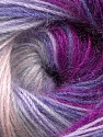Fiber Content 60% Premium Acrylic, 20% Mohair, 20% Wool, Purple, Lilac, Lavender, Brand ICE, Fuchsia, Yarn Thickness 2 Fine  Sport, Baby, fnt2-50303
