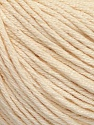 Fiber Content 60% Bamboo, 40% Cotton, Brand ICE, Dark Cream, Yarn Thickness 3 Light  DK, Light, Worsted, fnt2-50539