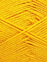 Fiber Content 100% Cotton, Yellow, Brand ICE, Yarn Thickness 2 Fine  Sport, Baby, fnt2-50588