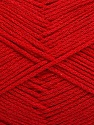 Fiber Content 100% Cotton, Red, Brand ICE, Yarn Thickness 2 Fine  Sport, Baby, fnt2-50591