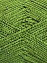 Fiber Content 100% Cotton, Brand ICE, Green, Yarn Thickness 2 Fine  Sport, Baby, fnt2-50697