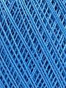 Ne: 10/3 Nm: 17/3 Fiber Content 100% Mercerised Cotton, Brand ICE, Blue, Yarn Thickness 1 SuperFine  Sock, Fingering, Baby, fnt2-51250