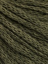 Fiber Content 50% Acrylic, 50% Wool, Khaki, Brand ICE, Yarn Thickness 4 Medium  Worsted, Afghan, Aran, fnt2-51475