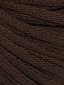 Fiber Content 50% Wool, 50% Acrylic, Brand ICE, Dark Brown, Yarn Thickness 4 Medium  Worsted, Afghan, Aran, fnt2-51494