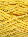 Fiber Content 72% Acrylic, 3% Viscose, 25% Wool, Yellow, Brand ICE, Yarn Thickness 6 SuperBulky  Bulky, Roving, fnt2-51500