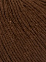 Fiber Content 60% Cotton, 40% Acrylic, Brand ICE, Dark Brown, Yarn Thickness 2 Fine  Sport, Baby, fnt2-51513
