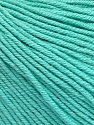Fiber Content 60% Cotton, 40% Acrylic, Mint Green, Brand ICE, Yarn Thickness 2 Fine  Sport, Baby, fnt2-51566