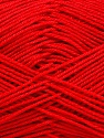 Ne: 8/4. Nm 14/4 Fiber Content 100% Mercerised Cotton, Red, Brand ICE, Yarn Thickness 2 Fine  Sport, Baby, fnt2-51638