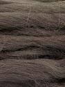 Fiber Content 100% Superwash Wool, Brand ICE, Dark Brown, Yarn Thickness 6 SuperBulky  Bulky, Roving, fnt2-51673