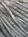Fiber Content 70% Polyamide, 19% Merino Wool, 11% Acrylic, Silver, Brand ICE, Grey, Yarn Thickness 4 Medium  Worsted, Afghan, Aran, fnt2-52017