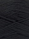 Fiber Content 50% Acrylic, 30% Wool, 20% Polyamide, Brand ICE, Black, Yarn Thickness 2 Fine  Sport, Baby, fnt2-52042
